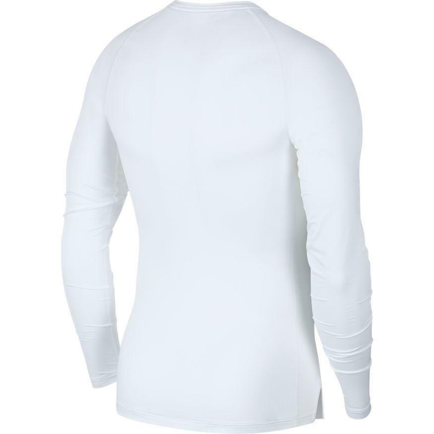 nike nike maglia termica pro bianco