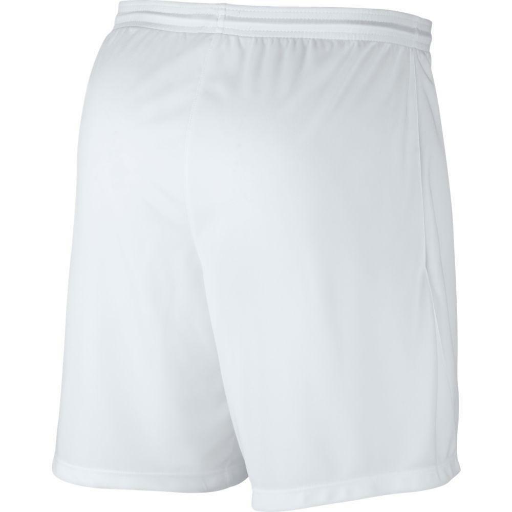 nike nike pantaloncino calcio park iii bianco