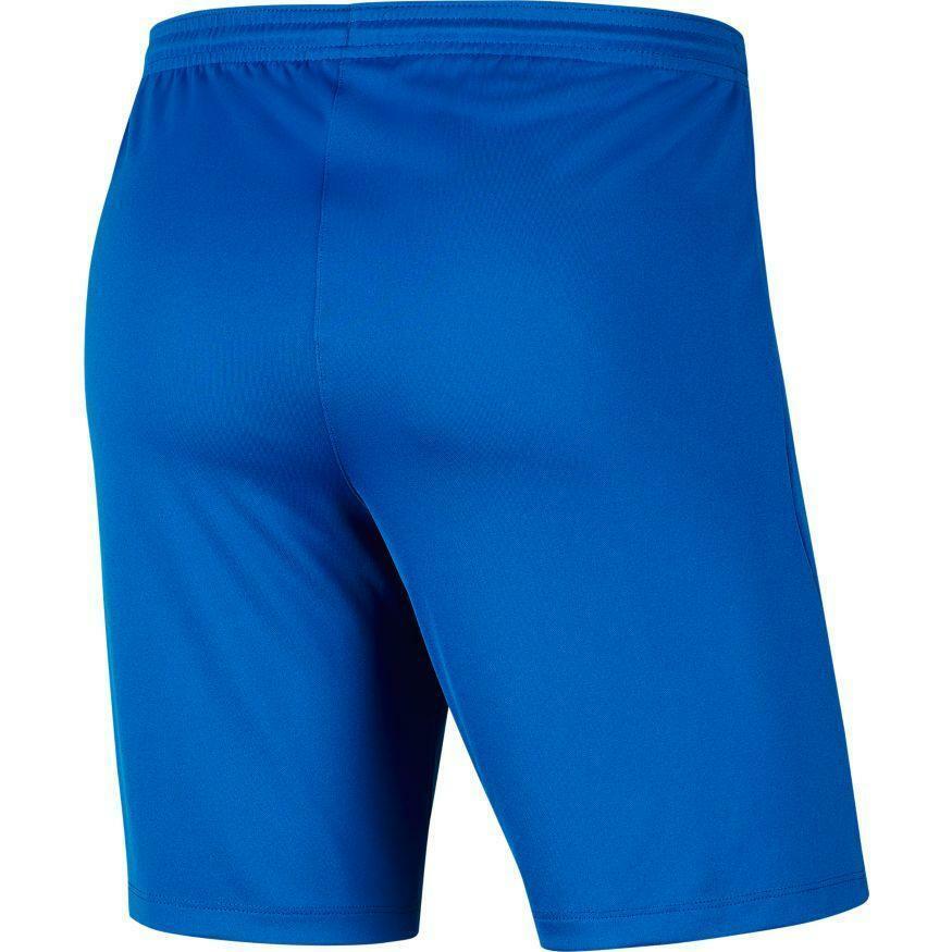nike nike pantaloncino calcio park iii azzurro
