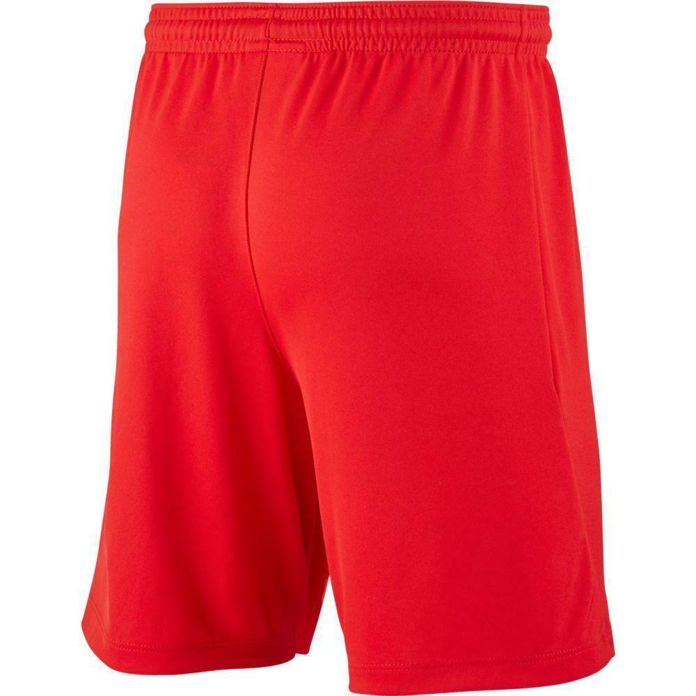 nike nike pantaloncino calcio park iii rosso
