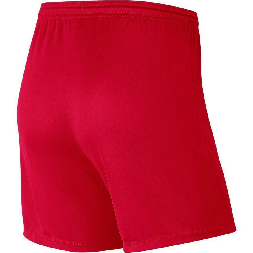 nike nike pantaloncino donna park iii rosso