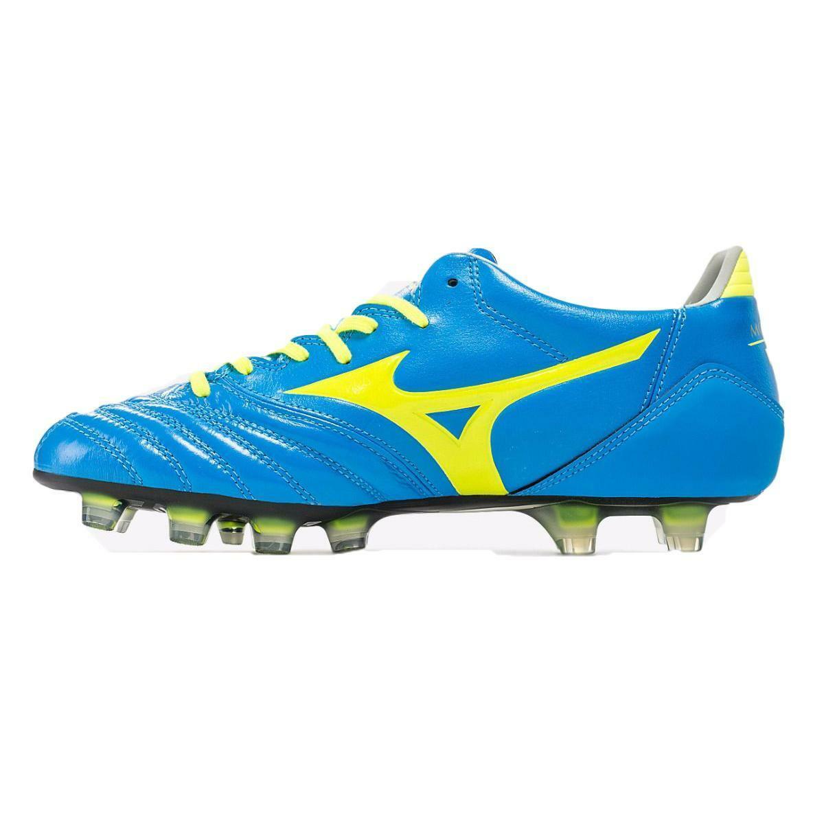 mizuno mizuno scarpa calcio morelia neo kl md azzurro/giallo