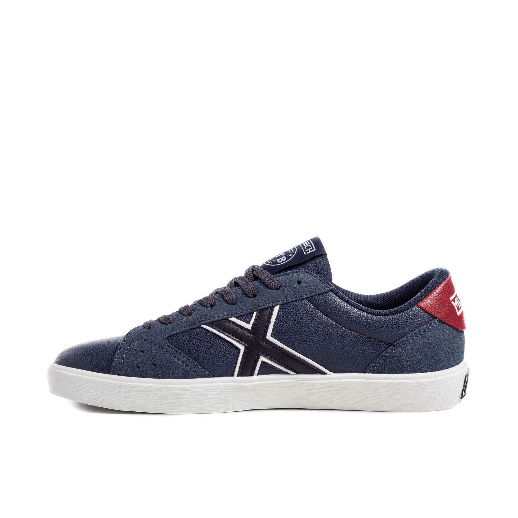 munich munich scarpa sneaker break blu/rosso