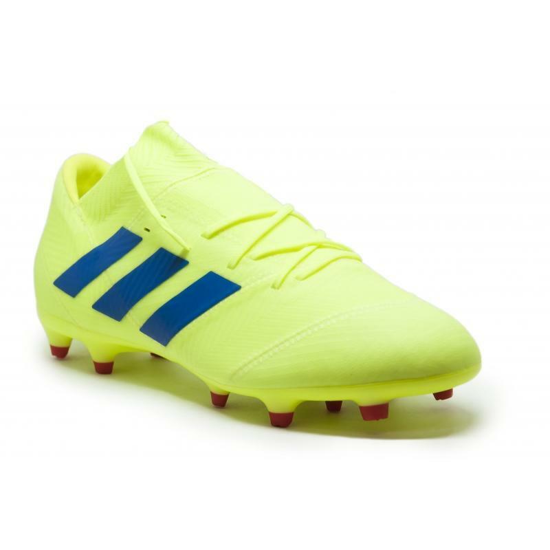 adidas adidas scarpa calcio nemeziz 18.2 fg giallo fluo