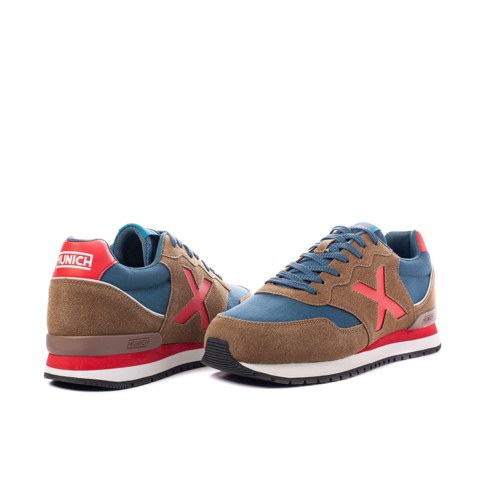 munich munich scarpa sneaker dash marrone