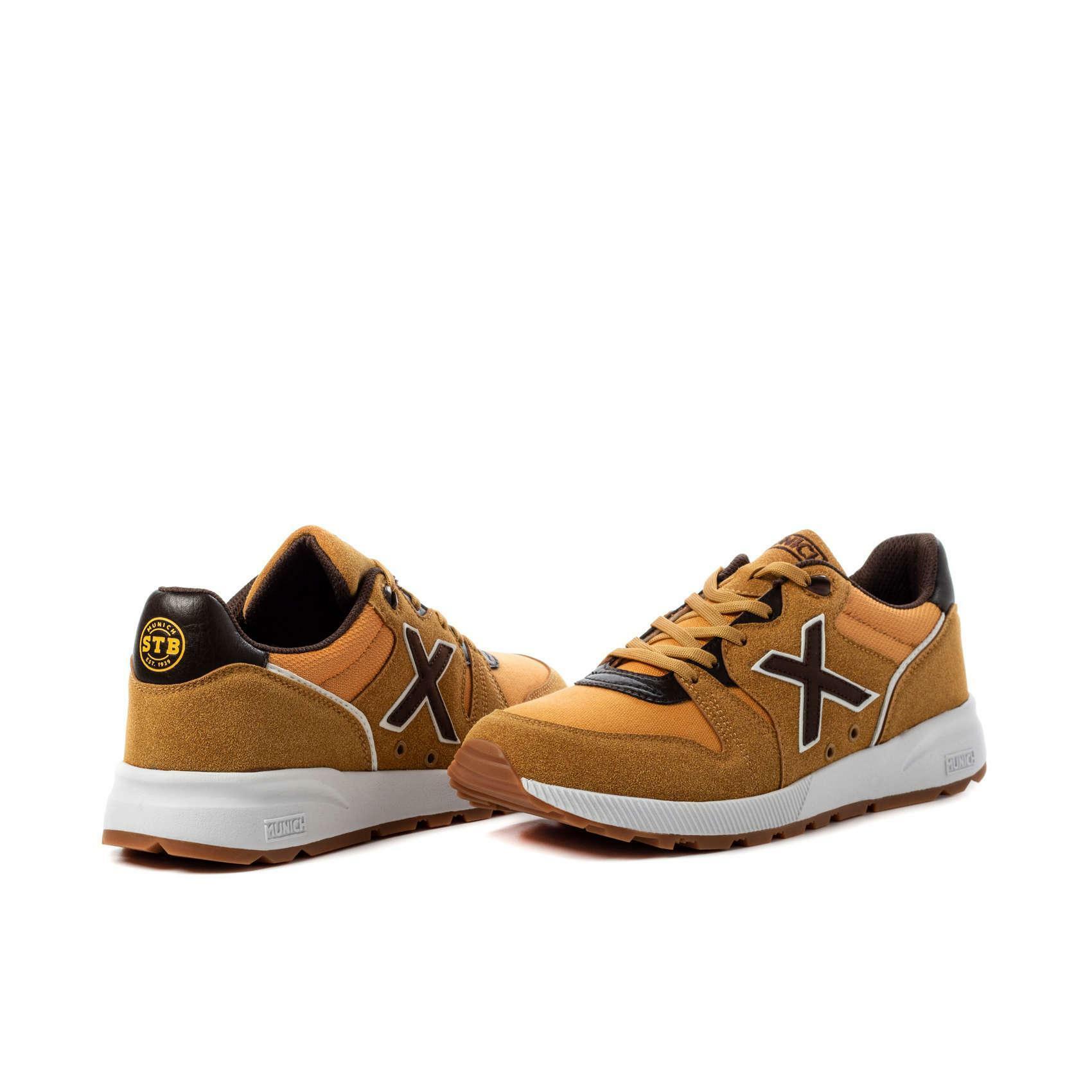 munich munich scarpa sneaker 1030 marrone chiaro