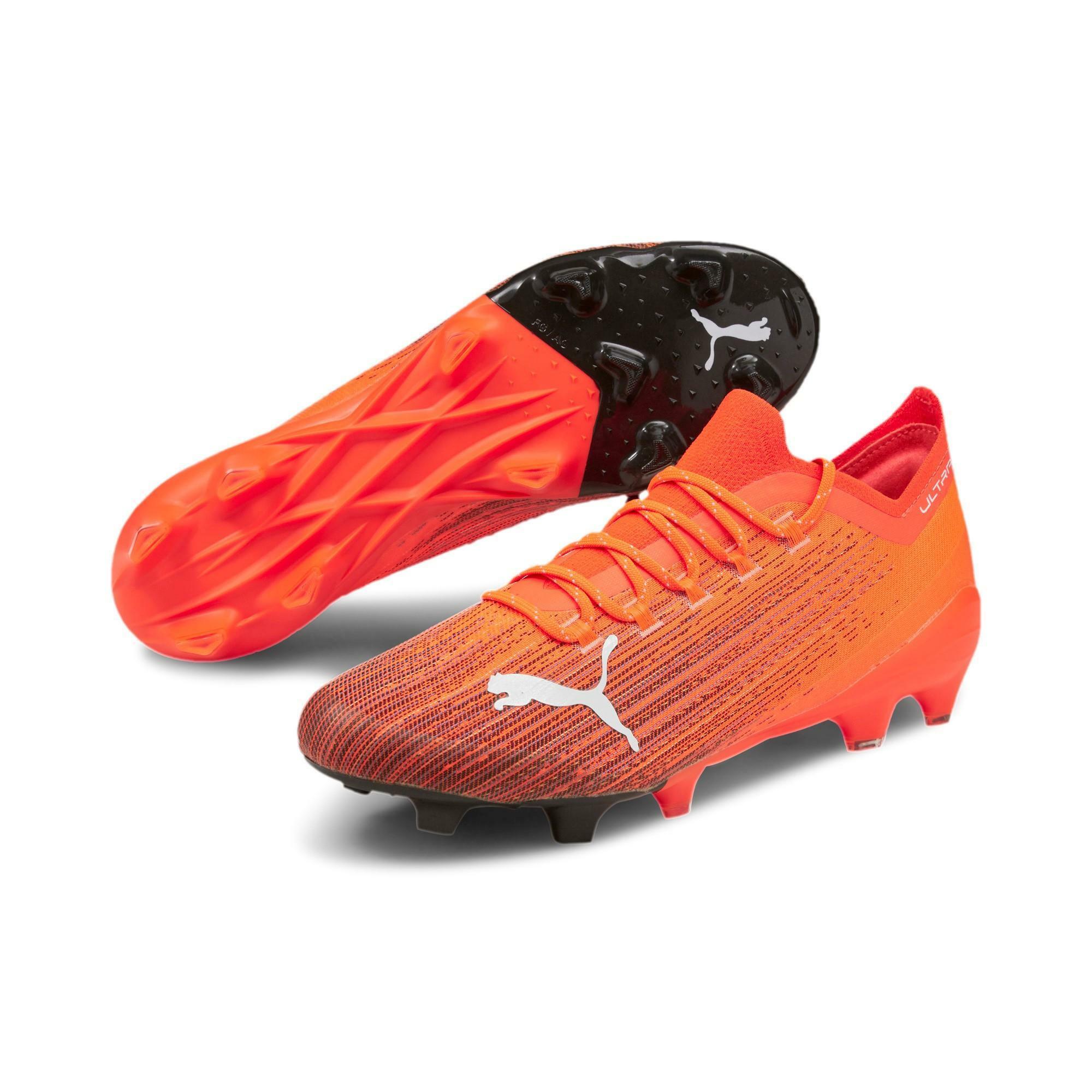 puma puma scarpa calcio ultra 1.1 fg/ag arancio