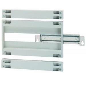 hager kit per interruttori scatolati hager orion plus  x160  pannello asolato completo h 300 fl371a