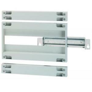 hager hager modulo pannello asolato completo di piastra di fondo per interruttori scatolati x 250 oriz mt/diff  36381