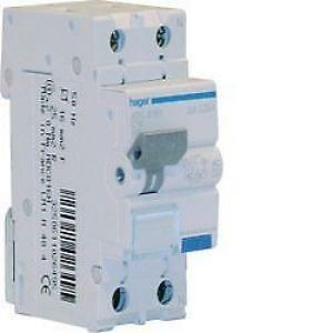 hager differenziale magnetotermico salvavita 1p+n 2m 4, 5k 20a adc820h