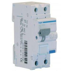 hager hager differenziale magnetotermico differenziale modulare 1pn 30ma ac 20a 6ka c 2 modulare adc920h