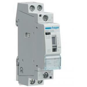 hager hager contattore modulare a comando manuale eco 2na 230vac 25a 1m  erc225