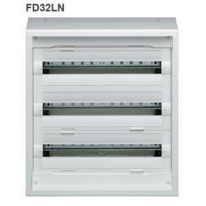 hager hager quadro vegad distribuzione da parete equipaggiato h 600 72 moduli fd32ln