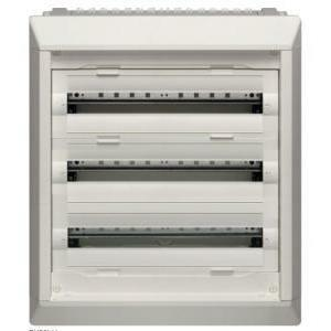 hager quadro vegad incasso equipaggiato armadio di distribuzione terminale h687 72 moduli fu32ln