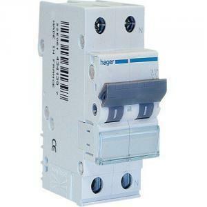 hager interruttore automatico modulare per il comando e protezione 1p+n c10a myn510