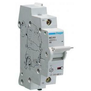 hager bobina di lancio corr. 230-415v ca 1m contatti ausiliari mz203
