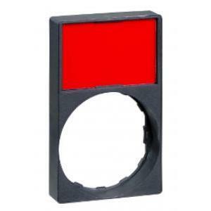 schneider schneider portaetichetta + etichetta per dispositivi di comando e segnalazione zby6h101