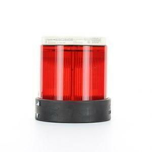 schneider schneider elemento luminoso in policarbonato  led fisso rosso 24v xvbc2b4