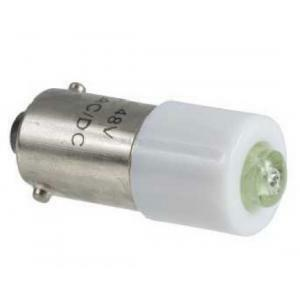 schneider schneider lampada di segnalazione e indicazione led verde ba 9s 24 vac dl1cj0243
