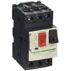 schneider schneider interruttore salvamotore automatico magnetotermico1,6-2,5a