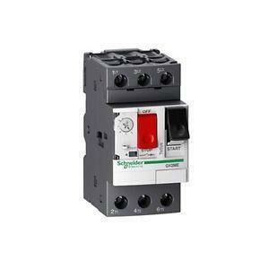 schneider schneider interruttore automatico magnetotermico salvamotore 2,5 4a