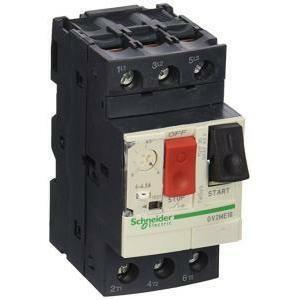 schneider schneider interruttore  salvamotore automatico magnetotermico  4-6,3a gv2me10