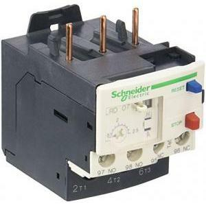schneider schneider rele' termico di protezione dei circuiti 1,6/2,5a led07