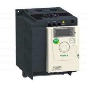schneider schneider inverter atv12, 2,2 kw, 3 hp, 200-240 v, monofase, c/dissipatore termico atv31hu22m2