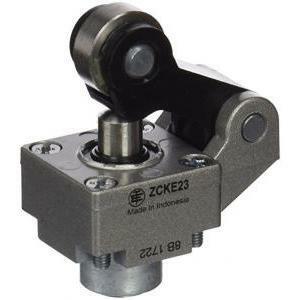 schneider schneider testa per finecorsa pulsante a leva e rotella in acciaio zck23