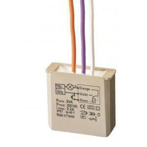 urmet urmet mtr500e rele' elettriconico passo-passo versione incasso 500w 5454050