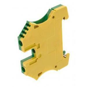 weidmuller weidmuller wpe 4 g/v morsetto serie w morsetto di terra 1010100000morsetto di terra