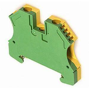 weidmuller weidmuller wpe 6 g/v morsetto serie w, morsetto di terra 1010200000