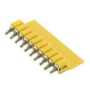 weidmuller weidmuller wqv2.5/10 pin ponticelli collegamento trasversale per  morsetti 1054460000