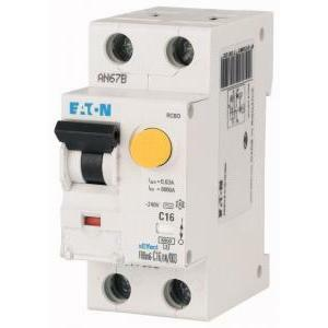 eaton eaton frbm6-c25/1n/003mt interruttore automatico differenziale modulare 1n c25 6ka 003 177800