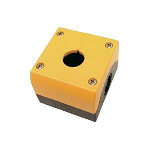 eaton eaton m22-iy1 custodia 1 foro giallo nero/gialla per dispositivi di comando e di segnalazione 216536