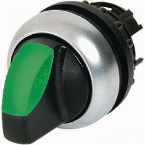 eaton eaton m22-wrlk-g selettore luminoso leva 2 posizioni permanente verde 216827