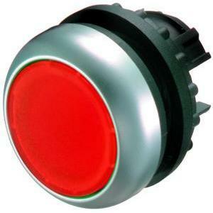 eaton eaton m22-dl-r pulsante luminoso  filo ghiera rosso 216925