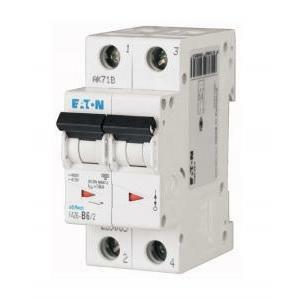 eaton eaton faz6-c20/2 interruttore magnetotermico 6ka 2p c 20a 239104