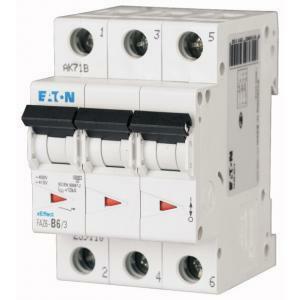 eaton eaton faz6-c16/3 interruttore magnetotermico automatico 6ka 3p c 16a 239148