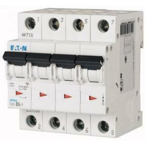 eaton eaton faz6-c16/4 interruttore automatico modulare magnetotermico 6ka 4p c 16a