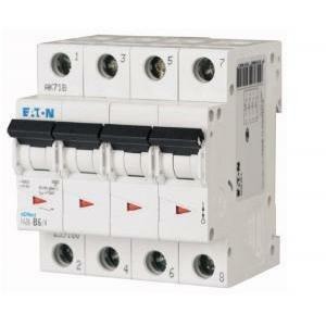 moeller moeller faz6-c25/4 interruttore magnetotermico modulare 6ka 4p c 25a 239220