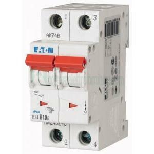 eaton eaton interruttore automatico modulare magnetotermico 2x10a 4500ka plsa-c10 243274
