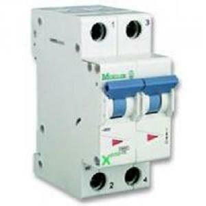 eaton eaton interruttore magnetotermico automatico modulare 2x20a 4500 ka 2 poli c20a 243279