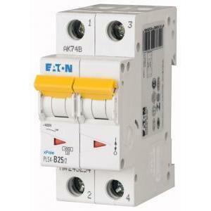 eaton eaton pls4-c25/2 interruttore magnetotermico automatico modulare  4,5ka 2p c 25a 243280