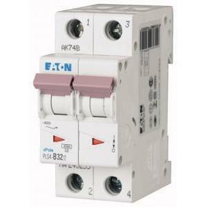 eaton eaton interruttore magnetotermico automatico modulare 2x32a 4500 ka 2p 243281