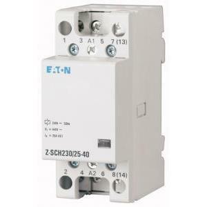 eaton eaton z-sch230/40-20 contattore modulare 230v 40a 2 na 248855