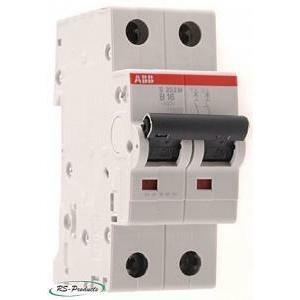 abb abb s202 c25 interruttore automatico modulare  6ka 2 poli