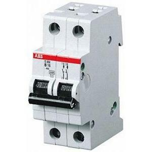 abb abb s202 c32 interruttore automatico 6ka 2 poli s466202