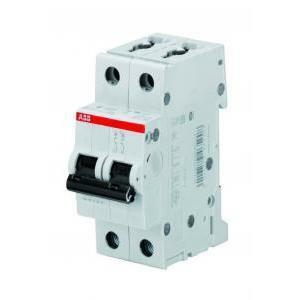 abb abb s202l c 6 interruttore automatico  modulare 4,5 ka s598446