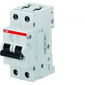 abb abb s202l c16 interruttore automatico  modulare 4,5 ka